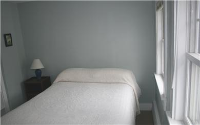 Dennis Cape Cod vacation rental - The third bedroom overlooks the koi pond