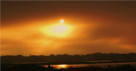 Dennis Cape Cod vacation rental - The sunset at Chapin Beach