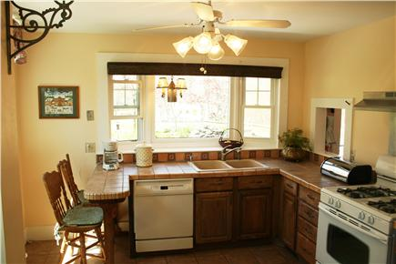 Dennis Cape Cod vacation rental - Our sunny kitchen with all of its amenities.