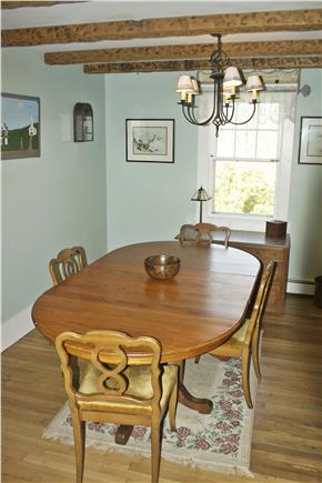 Dennis Cape Cod vacation rental - Enjoy meals in the dining room