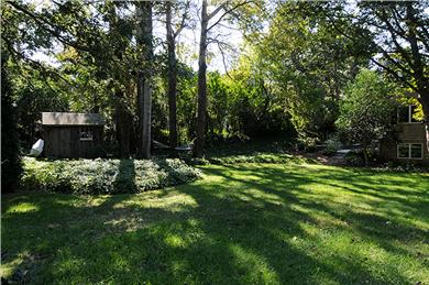 Chatham Cape Cod vacation rental - Large side yard for games