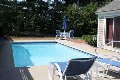 New Seabury, Mashpee New Seabury vacation rental - Beautiful and private gunite pool.