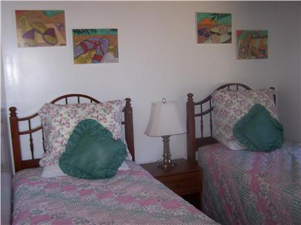 Lieutenant Island, Wellfleet Cape Cod vacation rental - 1st floor twin bedroom
