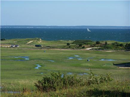 Lieutenant Island, Wellfleet Cape Cod vacation rental - View from front yard at mid-tide