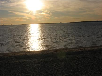 West Yarmouth Cape Cod vacation rental - Watch the Sunset at the beach - end of the street 3/10 mile