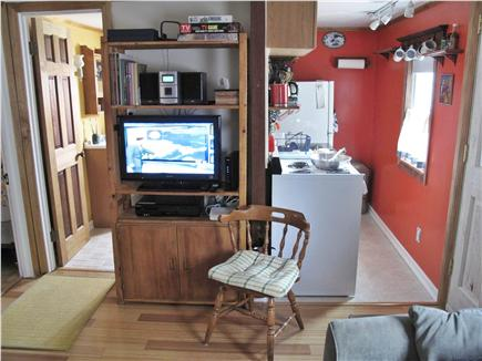Provincetown Cape Cod vacation rental - Living Room and Kitchen and Corner Bedroom