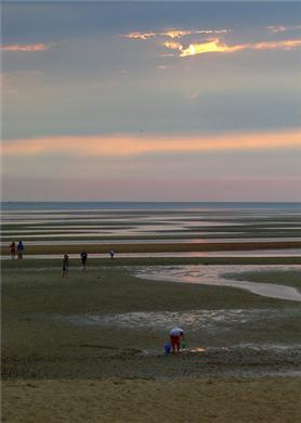 Eastham Cape Cod vacation rental - First Encounter bay beach; end the day with the best sunsets