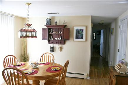 Yarmouth Port Cape Cod vacation rental - Dining Area near slider to upper deck
