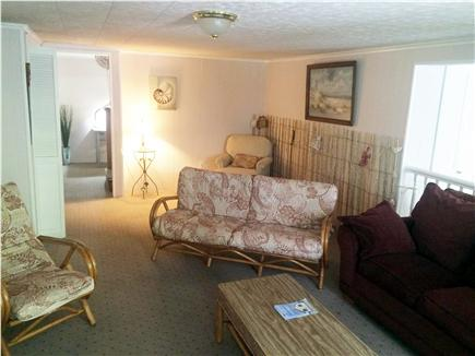 Yarmouth Port Cape Cod vacation rental - TV/Game area on the Lower level