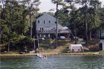 Harwich Cape Cod vacation rental - House from Lake