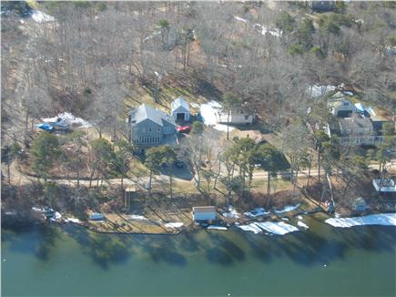 Harwich Cape Cod vacation rental - Ariel View