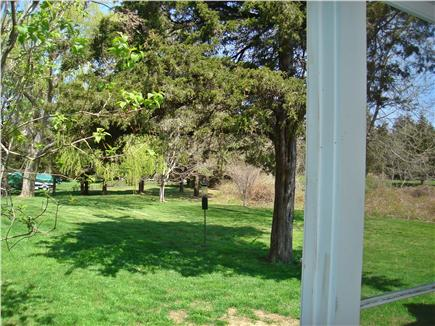 East Orleans Cape Cod vacation rental - View from screened porch