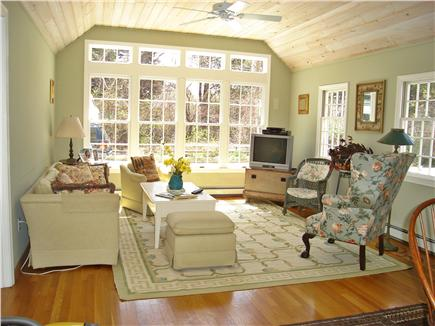 East Orleans Cape Cod vacation rental - Sunroom part of the great room