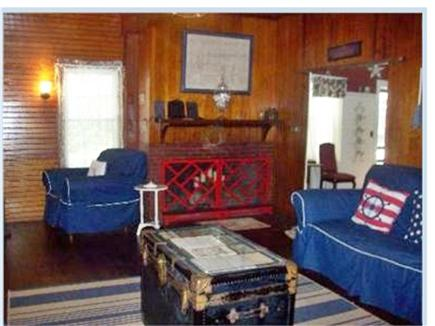 West Harwich Cape Cod vacation rental - Living room and dining room entrance