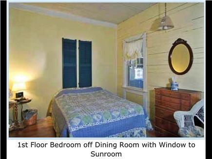West Harwich Cape Cod vacation rental - 1st Floor Bedroom off Dining Room