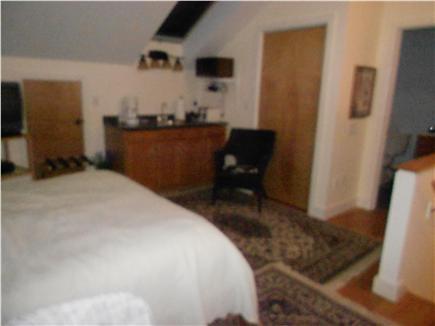Wellfleet Cape Cod vacation rental - Over the garage bedroom (queen), mini-kitchen and full bath