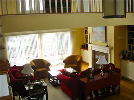 Wellfleet Cape Cod vacation rental - Cathedral ceiling great room