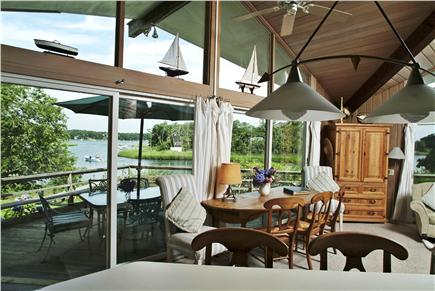 Orleans Cape Cod vacation rental - View from the kitchen