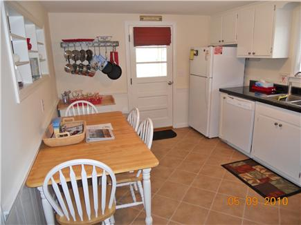West Yarmouth Cape Cod vacation rental - Fully-equipped eat-in-kitchen
