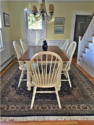 Harwichport Cape Cod vacation rental - Dining room seats 8