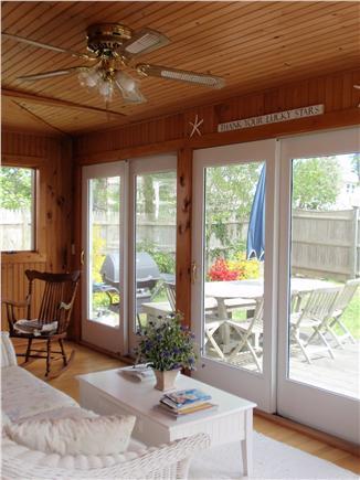 Harwichport Cape Cod vacation rental - Breezy sunporch