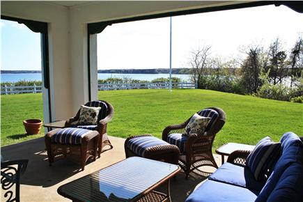 Orleans Cape Cod vacation rental - Sit in the outdoor living room, enjoy the Bay