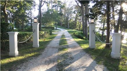 Orleans Cape Cod vacation rental - Entryway gates to your private estate