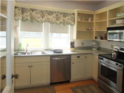 Orleans Cape Cod vacation rental - Main kitchen, stainless appliances, sub zero refrig, corian