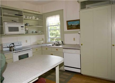 Orleans Cape Cod vacation rental - Back kitchen, with all the amenities, opens to a screen porch