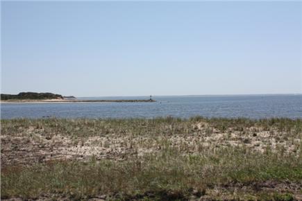 Wellfleet Cape Cod vacation rental - View from main deck of Lt.'s Island & Wellfleet Harbor