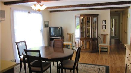 Barnstable Cape Cod vacation rental - Sliders to outside deck and hallway to 3 bedrooms and 2 baths