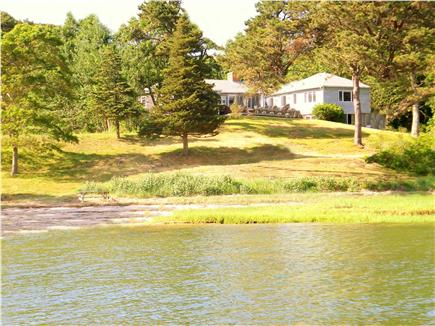 Orleans Cape Cod vacation rental - View of the house from the Bay
