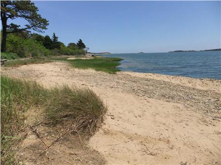 Orleans Cape Cod vacation rental - Beautiful private Pleasant Bay is right in front of the house