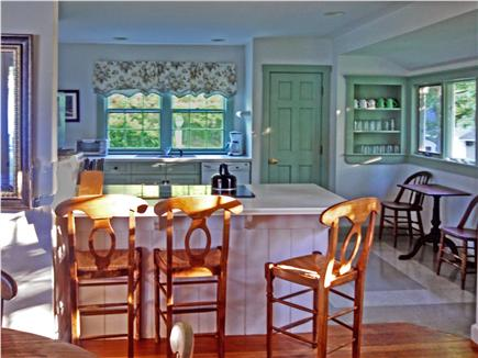 Orleans Cape Cod vacation rental - Sunny and bright kitchen with breakfast bar