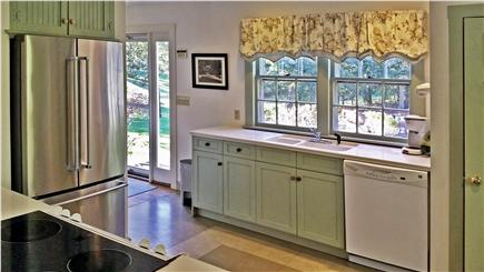Orleans Cape Cod vacation rental - Partial kitchen view looking out the sunny doorway