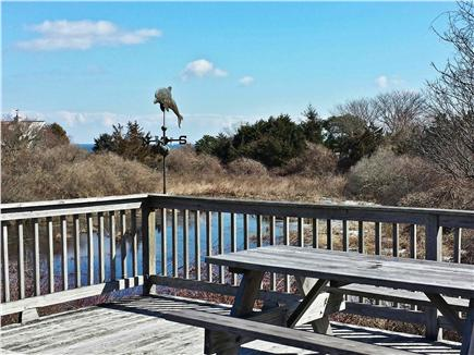 East Orleans Cape Cod vacation rental - View of Nauset Beach from deck, overlooking kettle pond