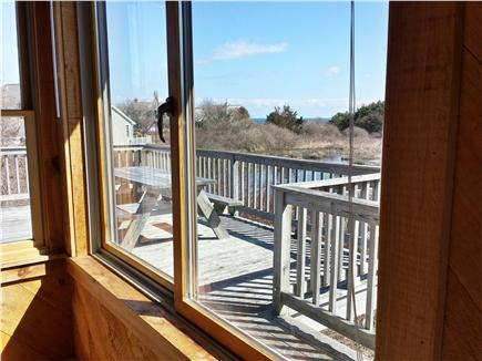 East Orleans Cape Cod vacation rental - View from kitchen