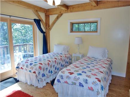 9 Pond Road, Orleans Cape Cod vacation rental - Master bedroom - xlong twin beds shown-main level (optional King)