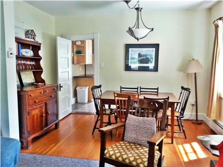 Woods Hole Woods Hole vacation rental - Dining room table seats up to 10 people.