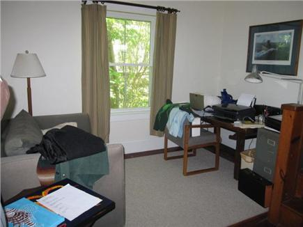 Woods Hole Woods Hole vacation rental - The study has a pullout single couch and large oak reading table.