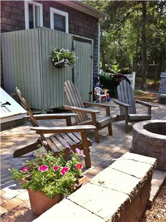 Falmouth Cape Cod vacation rental - Stone Patio, Outdoor Shower & Firepit