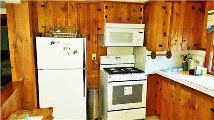 South Chatham Cape Cod vacation rental - Kitchen view--new appliances installed 2016