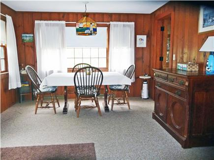 South Chatham Cape Cod vacation rental - Dining area