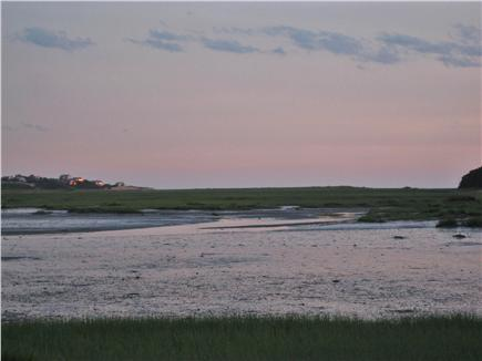 South Wellfleet Cape Cod vacation rental - Along the path at low tide