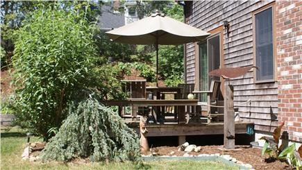 Harwich Cape Cod vacation rental - House Deck 1