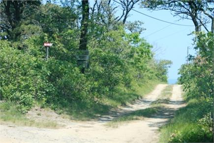 Eastham Cape Cod vacation rental - Down the lane to the end, then turn right
