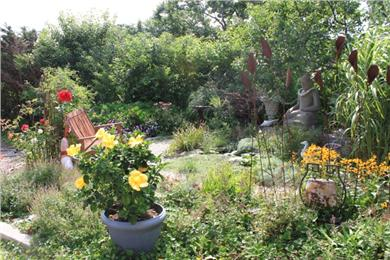 Eastham Cape Cod vacation rental - Peaceful meditation garden with small pond