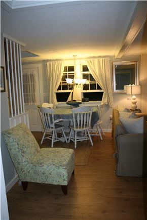 Brewster Historic District Cape Cod vacation rental - Kitchen eating area