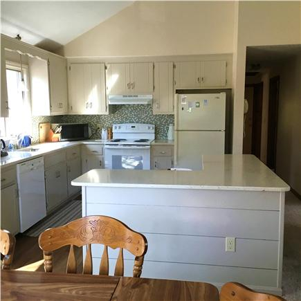 Chatham Cape Cod vacation rental - Open kitchen with quartz counters