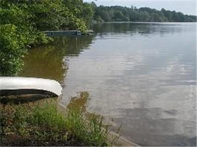 Dennis Village, Scargo Lake Cape Cod vacation rental - Lakefront w/canoe & swimming area; great year-round fishing